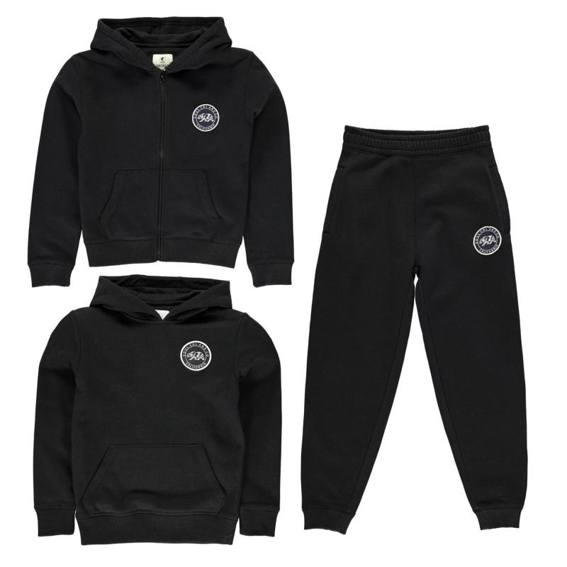 Tepláky SoulCal Signature Jogging Bottoms Junior Boys Dk...