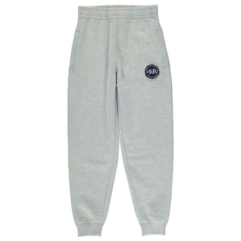Tepláky SoulCal Signature Jogging Bottoms Junior Boys Black