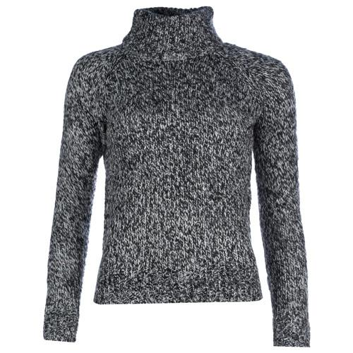 Svetr Vero Moda Womens Camille Funnel Neck Knit Jumper Black