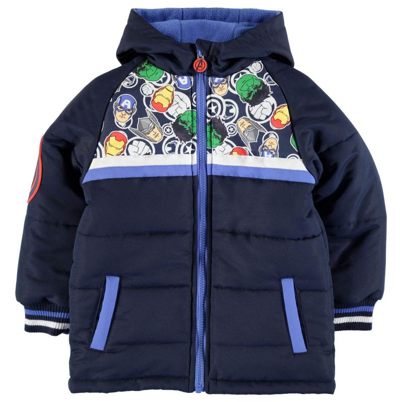 Bunda Character Padded Coat Infant Boys Avengers