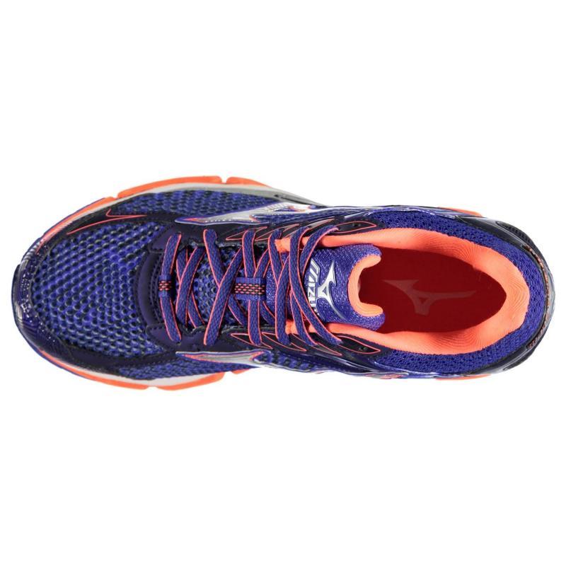 Boty Mizuno Wave Enigma 6 Ladies Running Shoes Blue/Coral, Velikost: UK6 (euro 39)