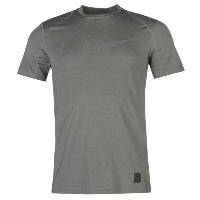 Tričko Nike Pro Swoosh Short Sleeve T Shirt Mens Grey