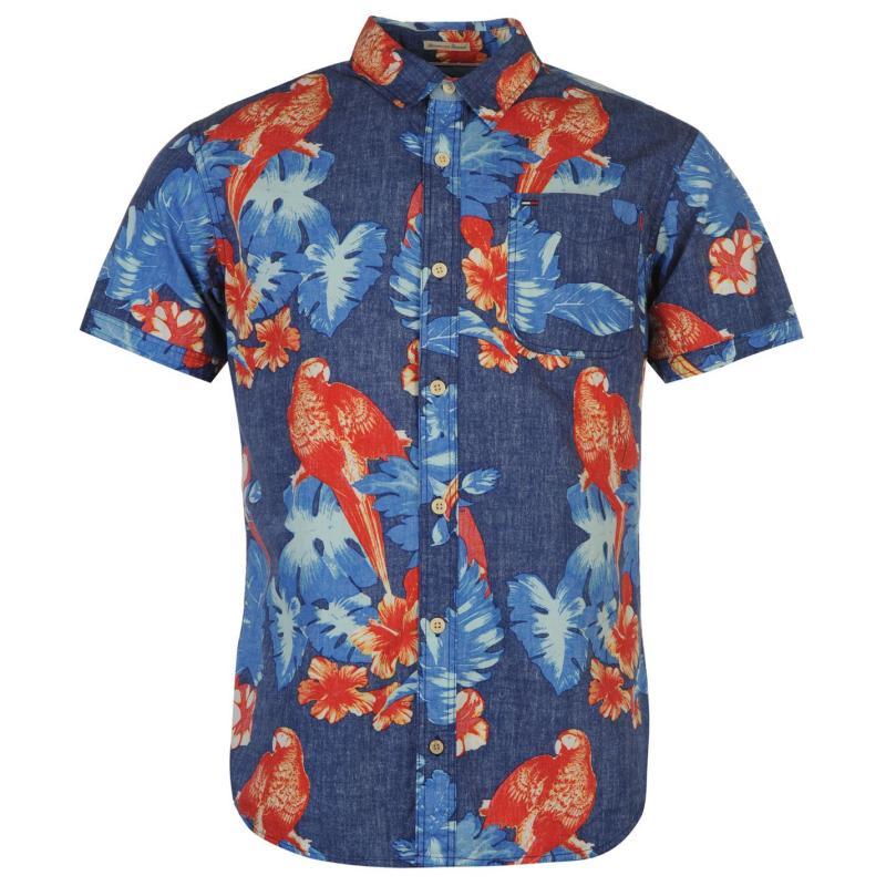 Košile Tommy Hilfiger Newton Shirt Mens twilight blue p