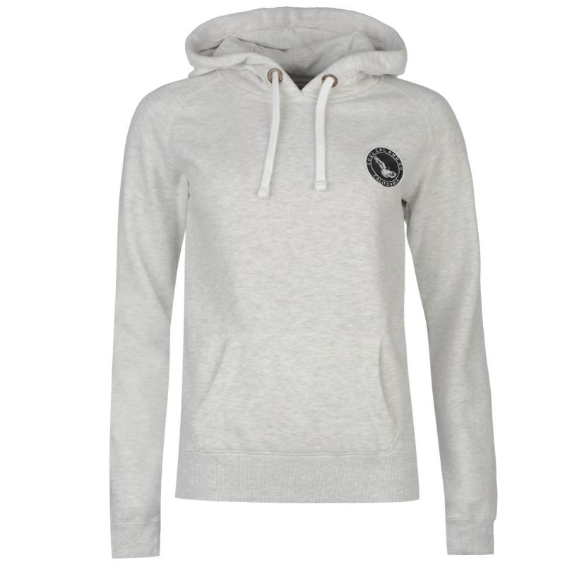 Mikina s kapucí SoulCal Signature OTH Hoodie Ice Marl