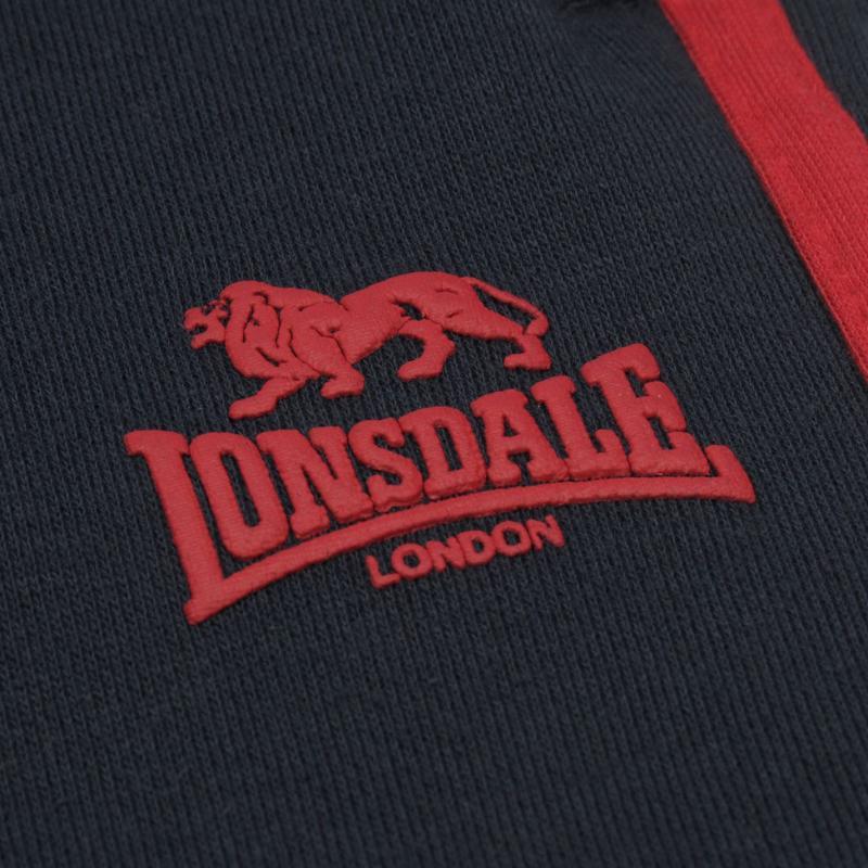 Tepláky Lonsdale 2 Stripe Jogging Bottoms Junior Boys Grey...