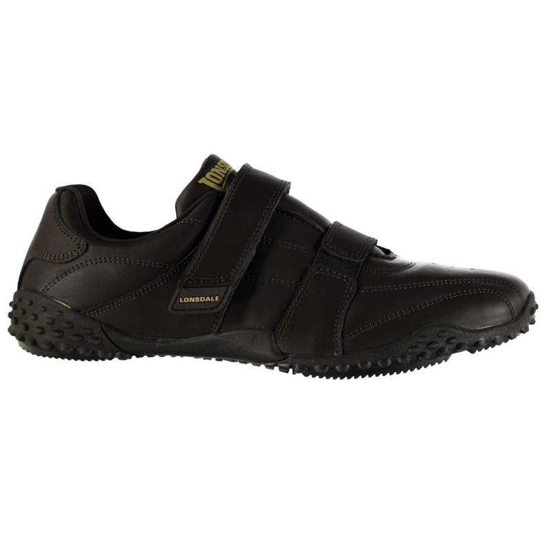 Boty Lonsdale Fulham Mens Trainers Brown, Velikost: UK11 (euro 46)