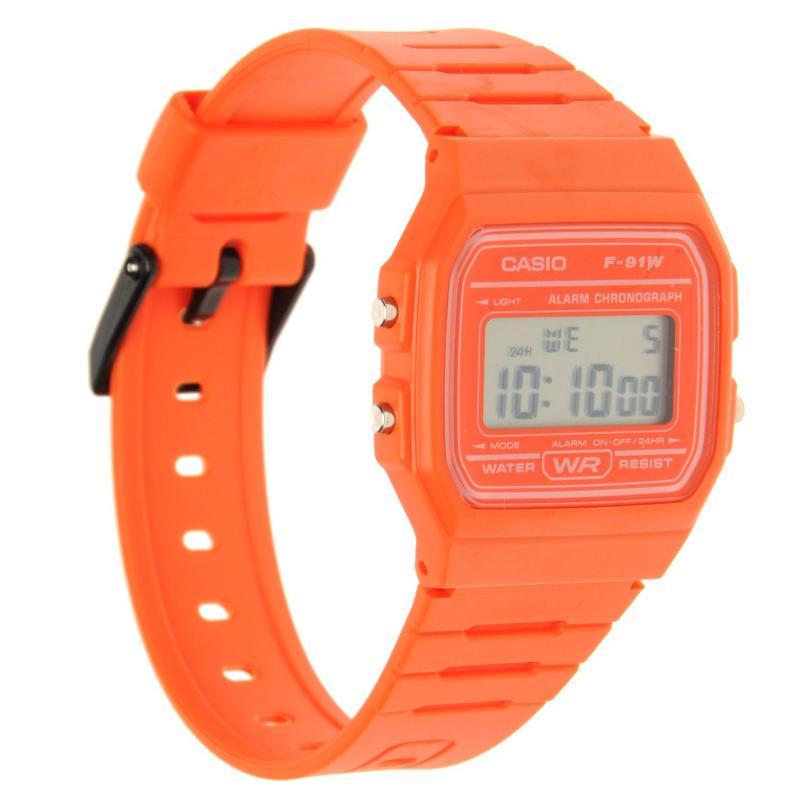 Casio Retro Collection Watch Orange