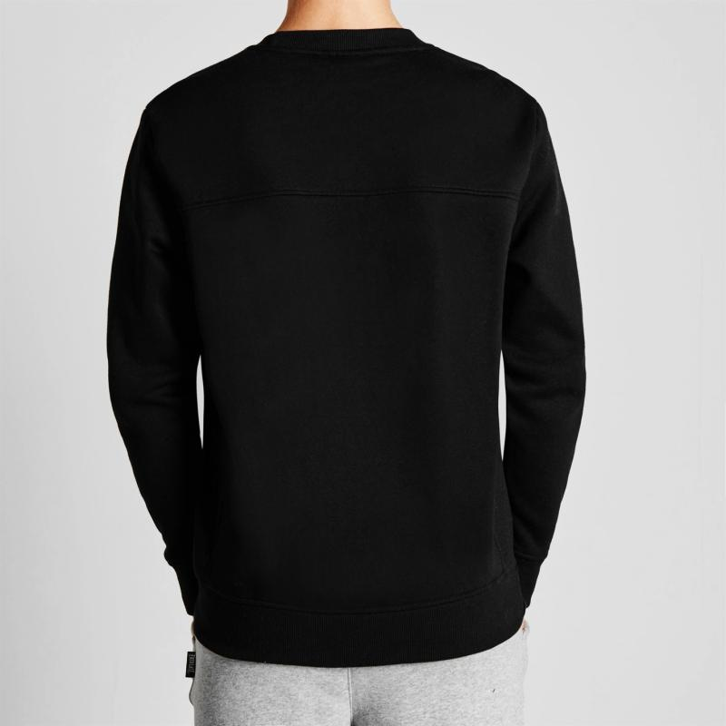 Mikina Everlast Crew Sweater Mens Grey Marl