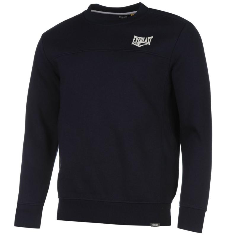 Mikina Everlast Crew Sweater Mens Charcoal Marl