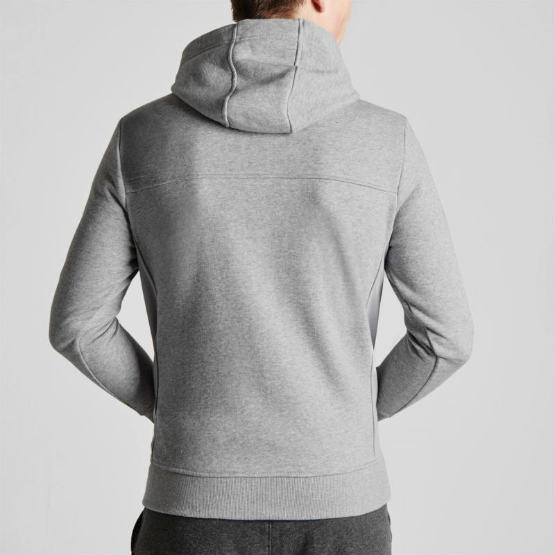 Mikina Everlast Zip Hoody Mens Grey Marl