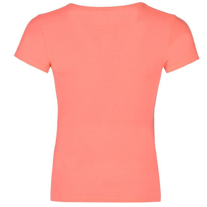 Lee Cooper Sun T Shirt Ladies Black