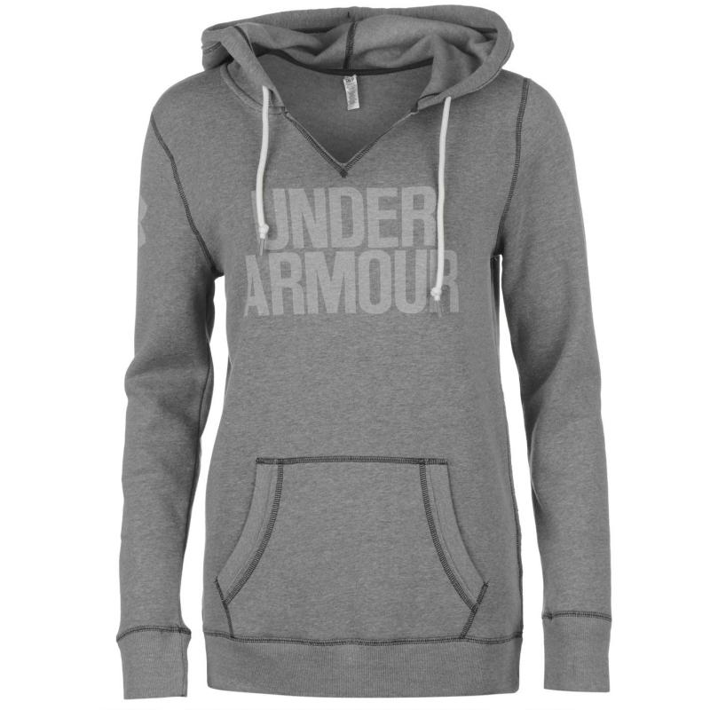 Mikina s kapucí Under Armour Favourite Hoody Ladies Green/White
