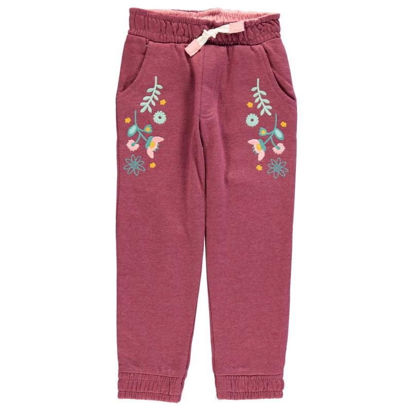 Heatons Embroidered Joggers Child Girls Multi