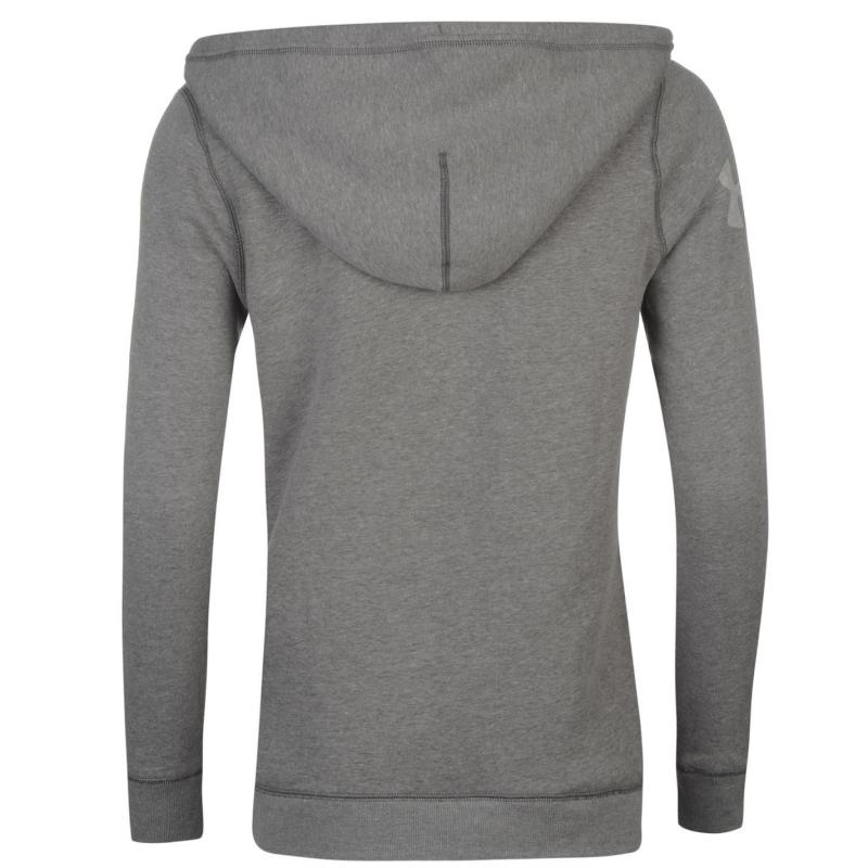 Mikina s kapucí Under Armour Favourite Hoody Ladies Black/White
