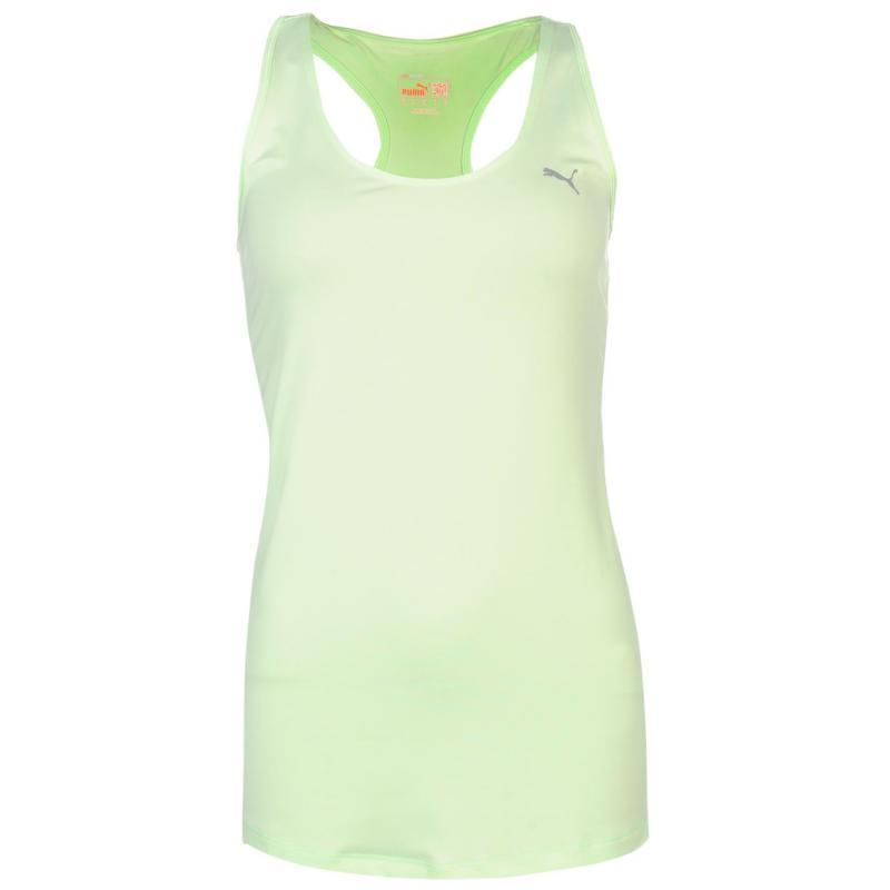 Puma Essentials Gym Tank Top Ladies Sharp Green