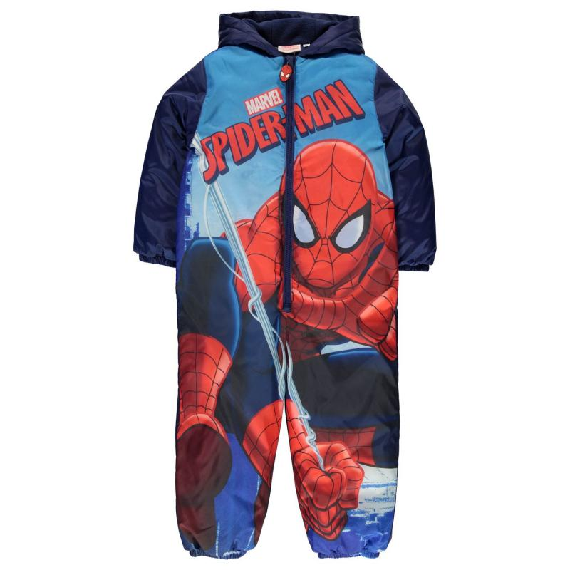 Bunda Character Padded Suit Infant Boy Spiderman
