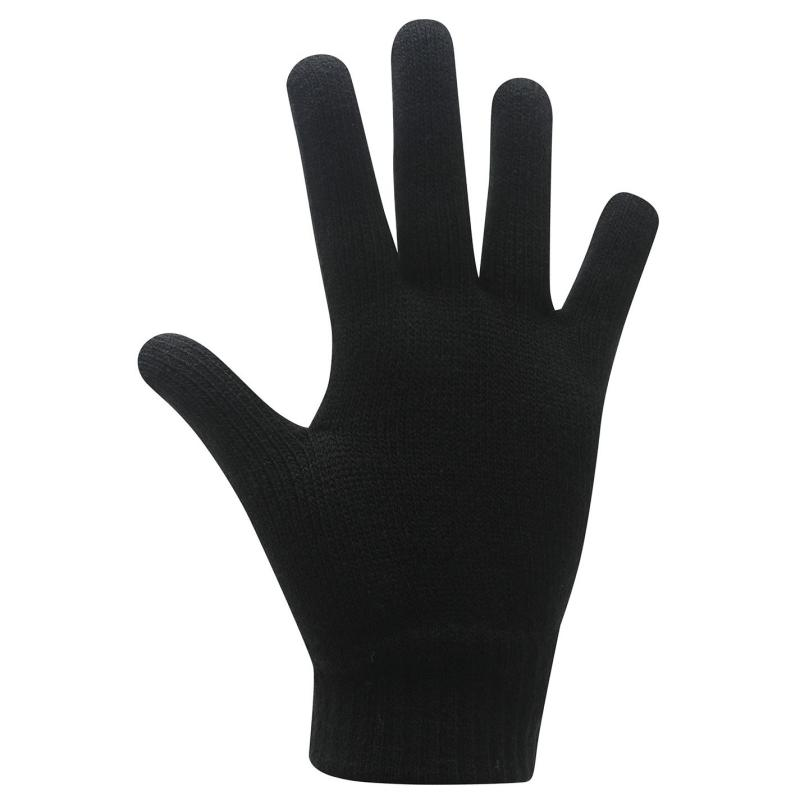 Nike Knitted Gloves Juniors Black