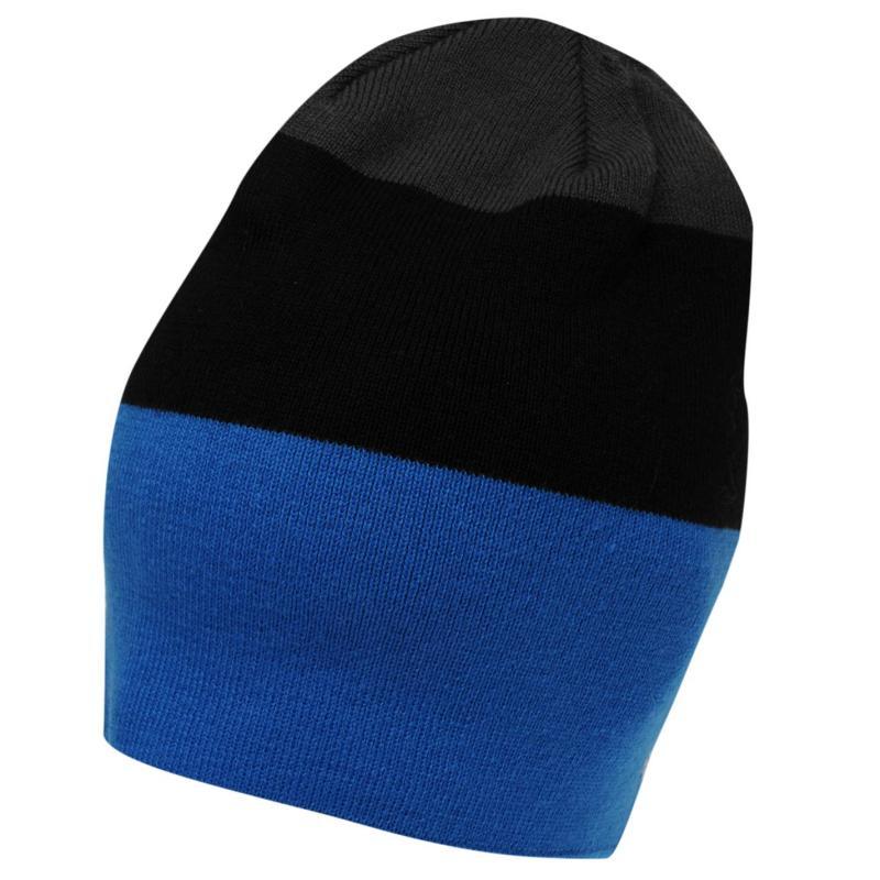 No Fear Powder Pull On Beanie Mens Blue/Black