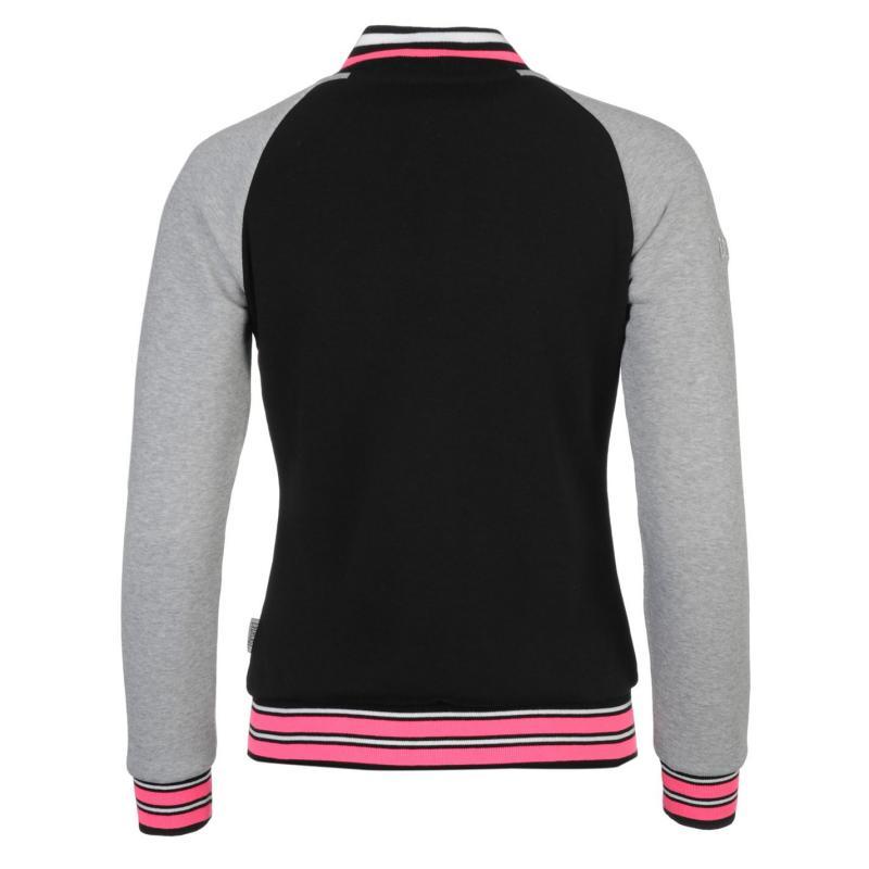 Everlast Baseball Jacket Ladies Black, Velikost: 10 (S)