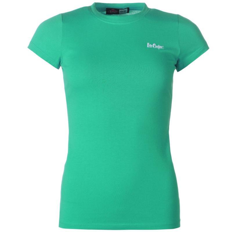 Šaty Lee Cooper Crew Neck T Shirt Ladies Green