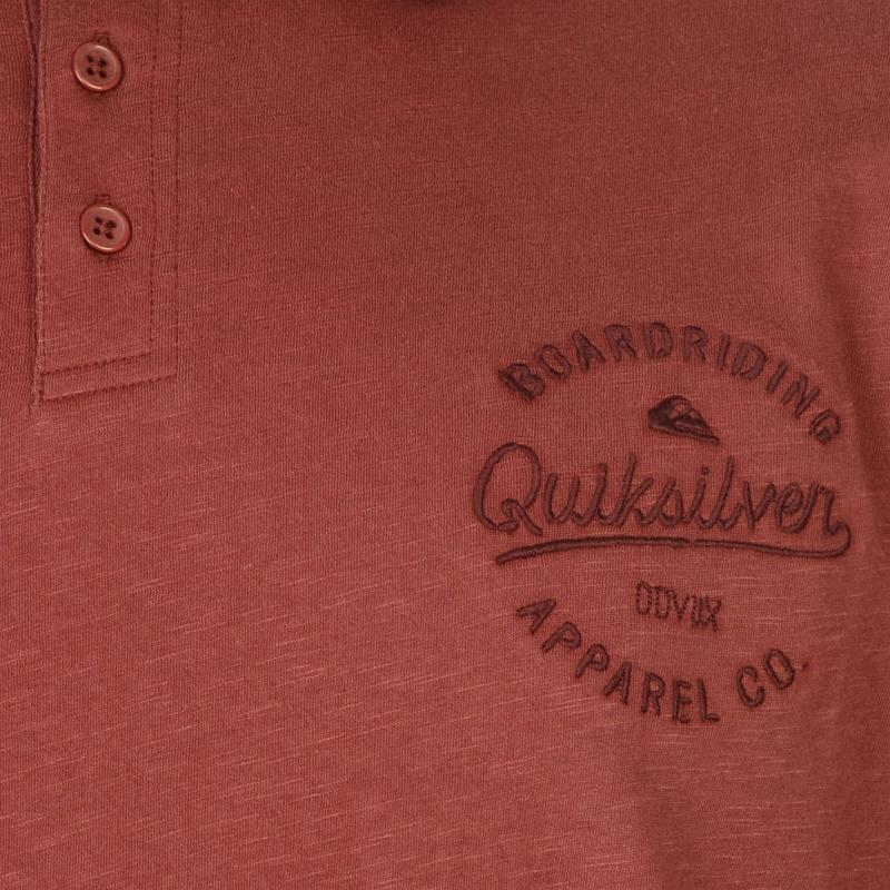 Quiksilver Inside Polo Shirt Mens Dusty Olive, Velikost: S