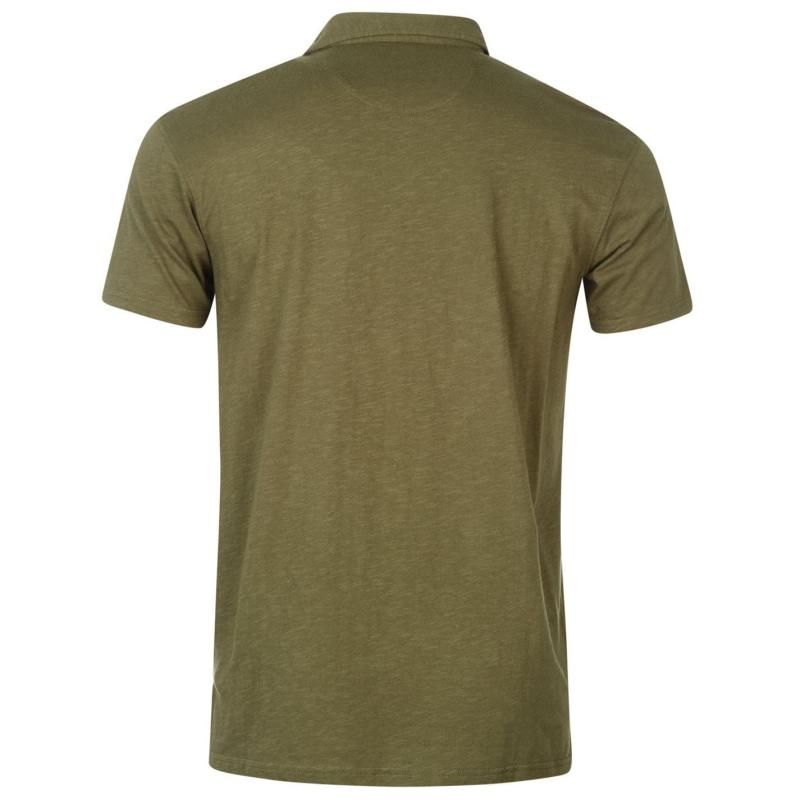 Quiksilver Inside Polo Shirt Mens Dusty Olive