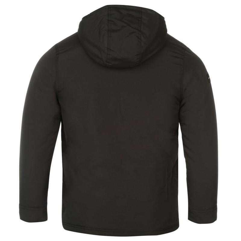 Bunda Quiksilver Meck Jacket Mens Charcoal, Velikost: S
