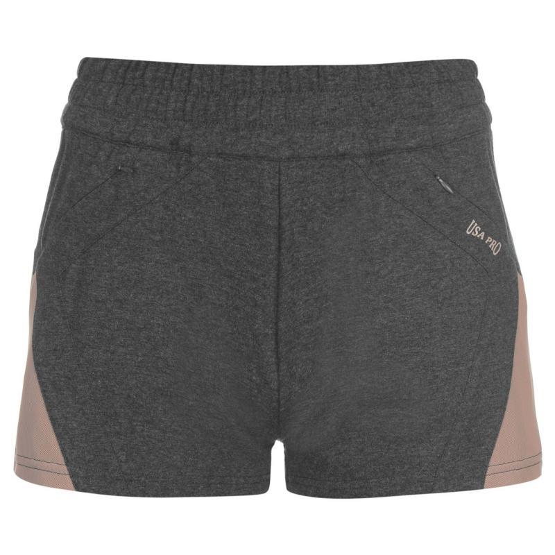 Šortky USA Pro Loose Shorts Ladies Charcoal Marl