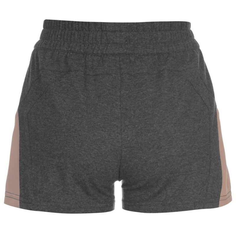 USA Pro Loose Shorts Ladies Charcoal Marl