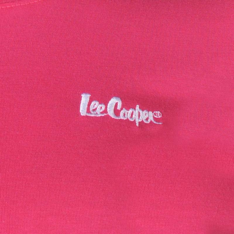 Lee Cooper Crew Neck T Shirt Ladies Royal
