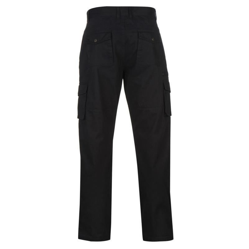 Kalhoty Pierre Cardin Cargo Trousers Mens Navy