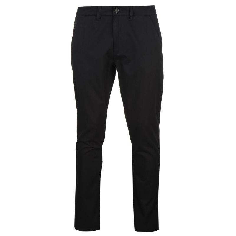Kalhoty Pierre Cardin Chino Casual Trousers Mens Navy