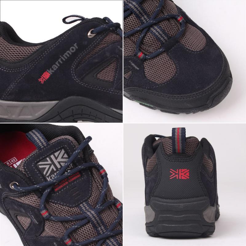 Boty Karrimor Summit Mens Walking Shoes Navy, Velikost: 12 (M)