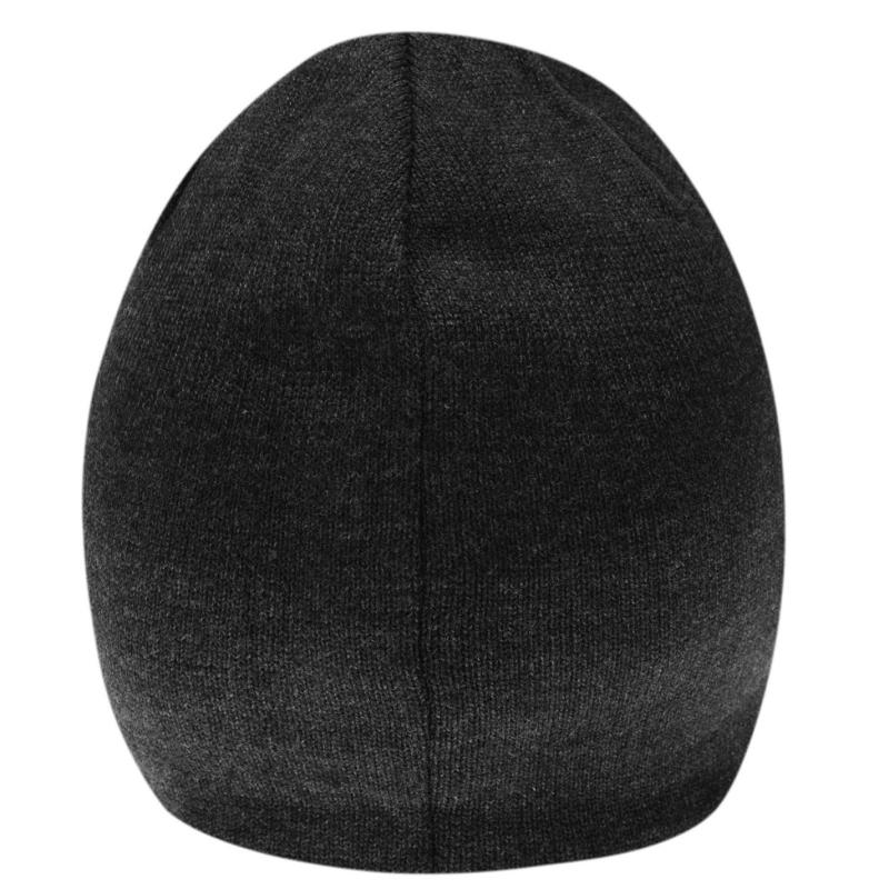 Puma Big Cat Junior Beanie Hat DrkGrey