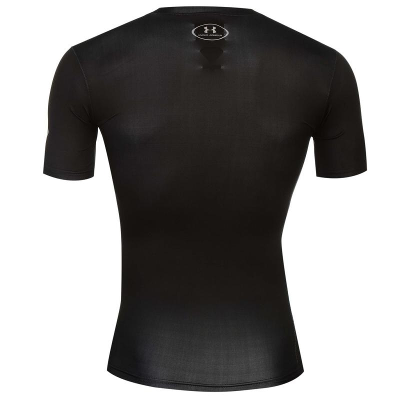 Under Armour Heat Gear Core Hero T Shirt Mens Superman Black