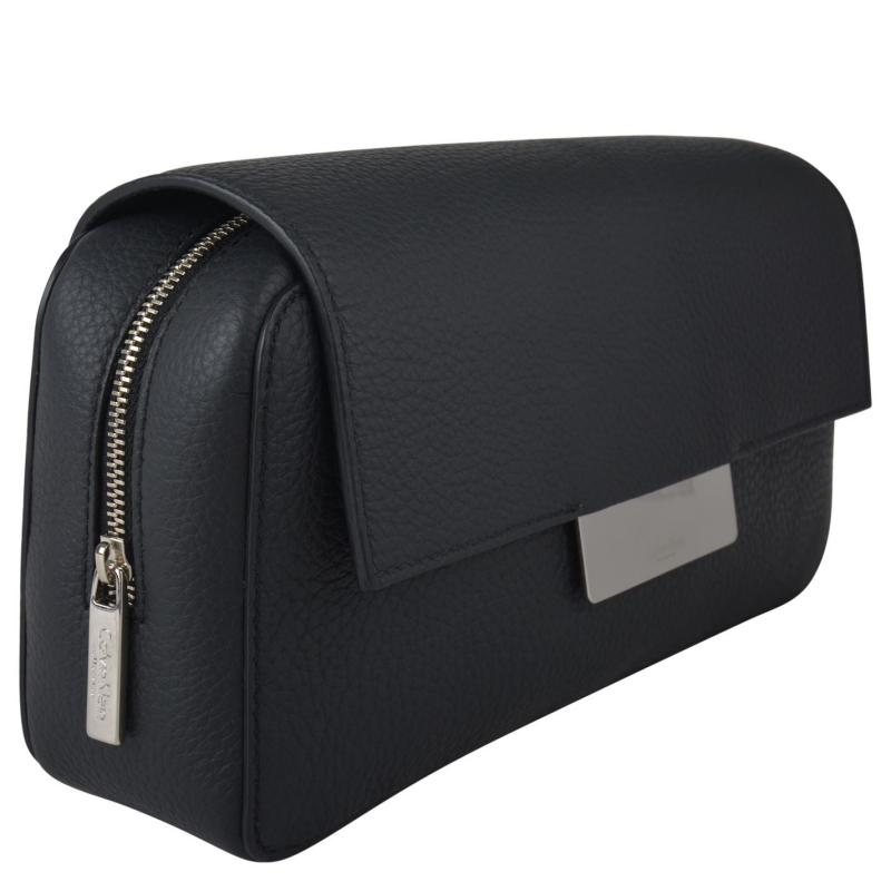 CALVIN KLEIN Madison Clutch Black