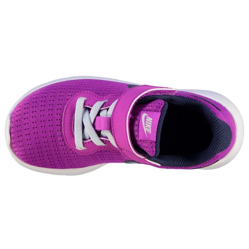 Nike Tanjun Runners Childrens HypViolet/Navy, Velikost: UK1 (euro 33)