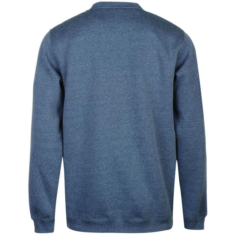 Mikina Giorgio Mexico Crew Sweater Mens Denim Marl