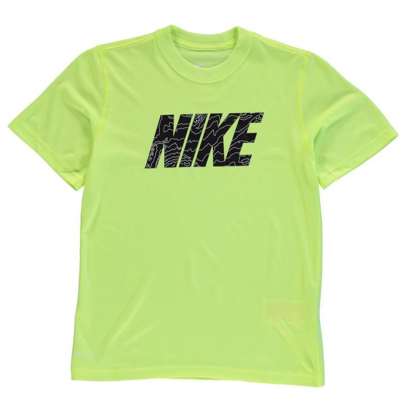 Tričko Nike Legend Tee Shirt Junior Black, Velikost: 7 - 8 let (SB)