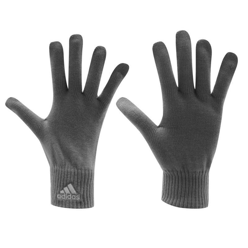 adidas Knit Mens Gloves Navy