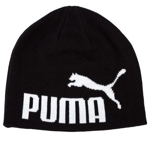 Puma Mens Big Cat No.1 Logo Beanie Black, Velikost: Jedna velikost