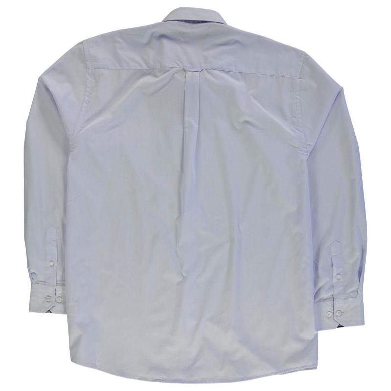 Košile Pierre Cardin XL Long Sleeve Shirt Mens Blue