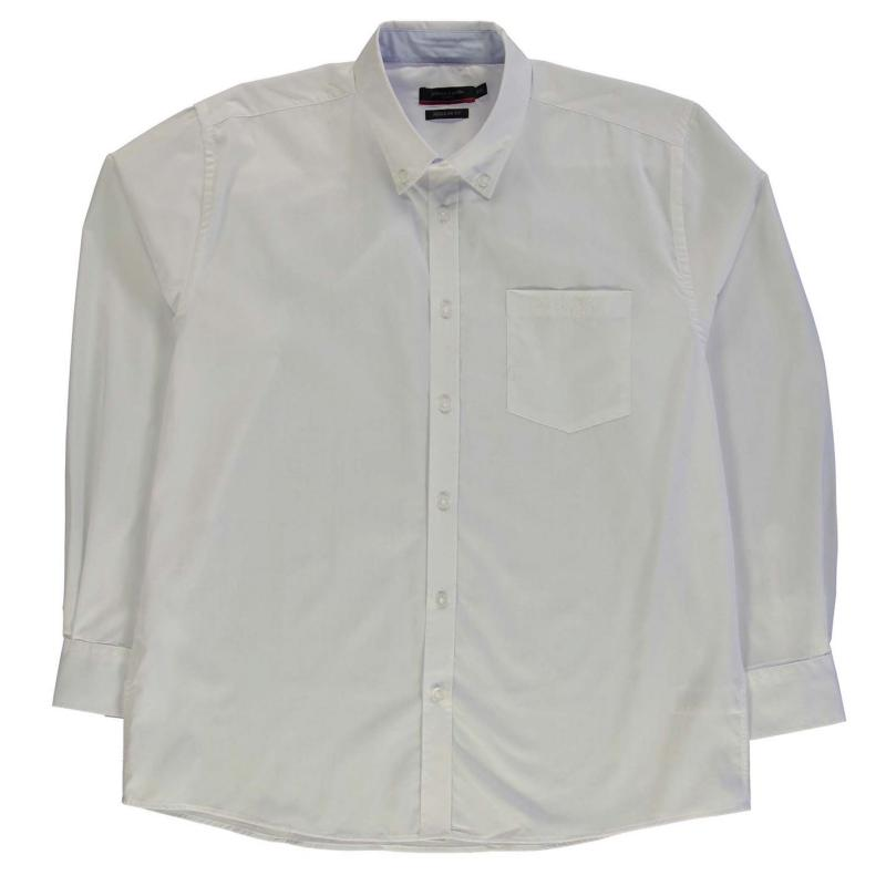 Košile Pierre Cardin XL Long Sleeve Shirt Mens White