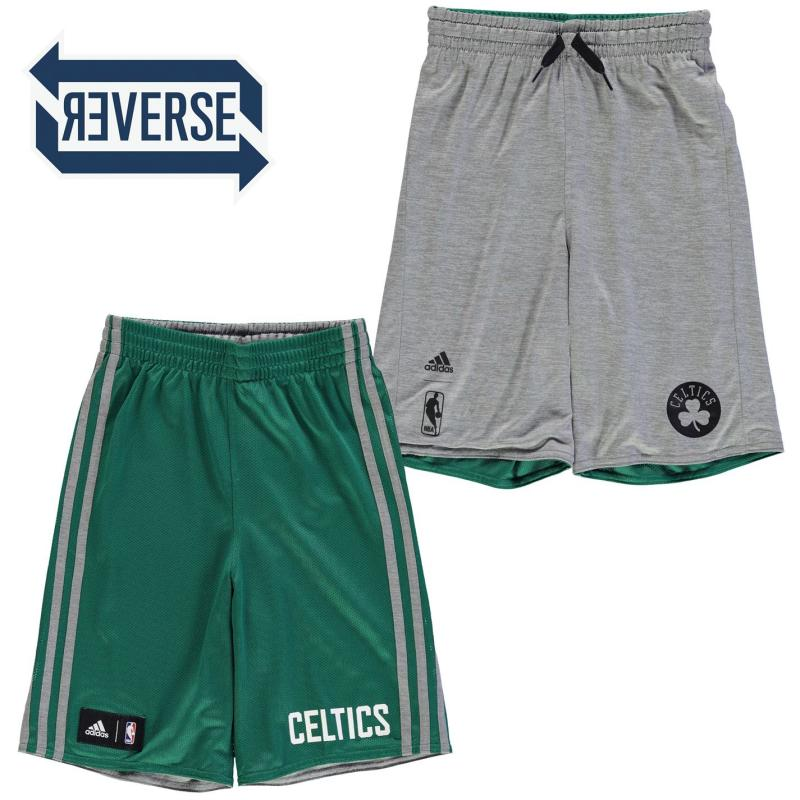 Kraťasy adidas Winter Hoops Reversible Shorts Junior Boys Boston Celtics