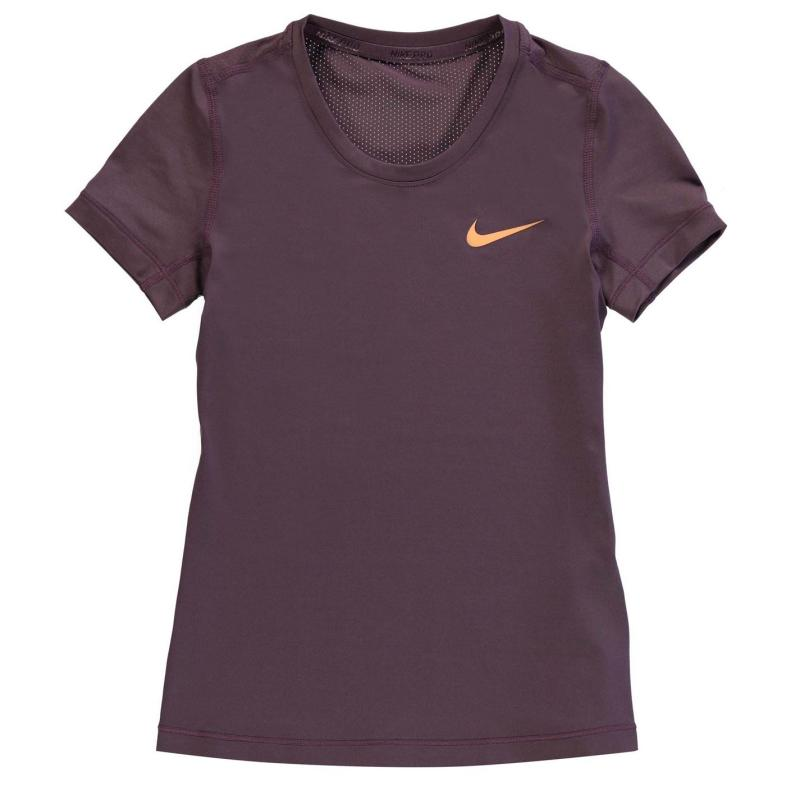 Nike Pro Training Top Junior Girls Black