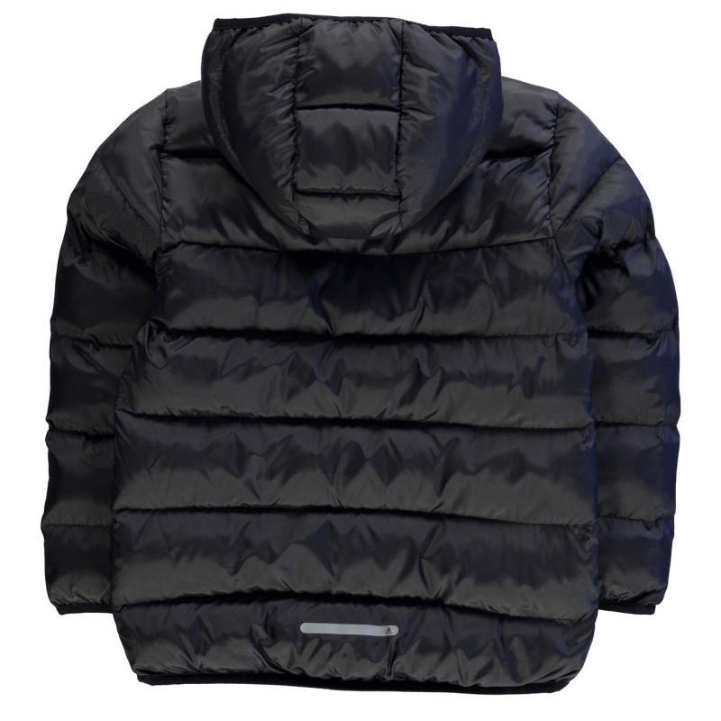 Bunda adidas BTS Padded Jacket Junior Boys Black/Blue