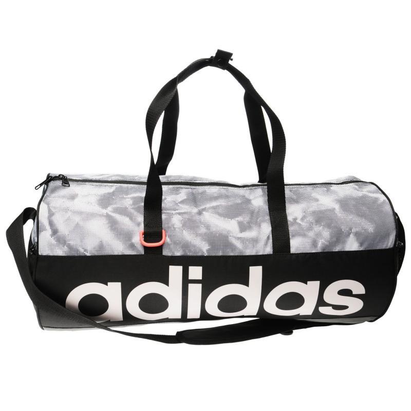 adidas Linear Team Bag Black/White