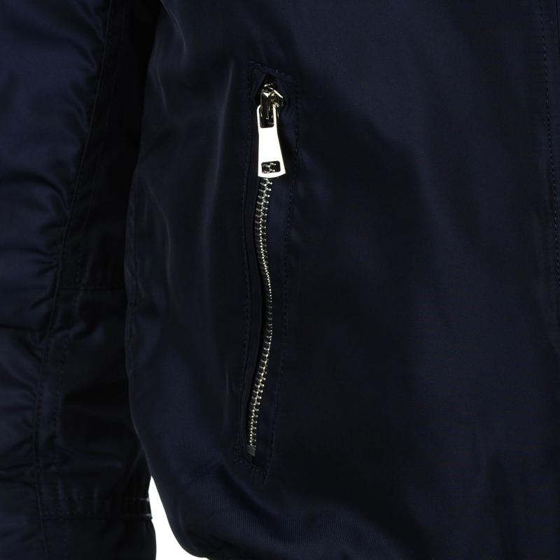 Bunda Golddigga MA1 Bomber Jacket Ladies Navy Blue, Velikost: 12 (M)