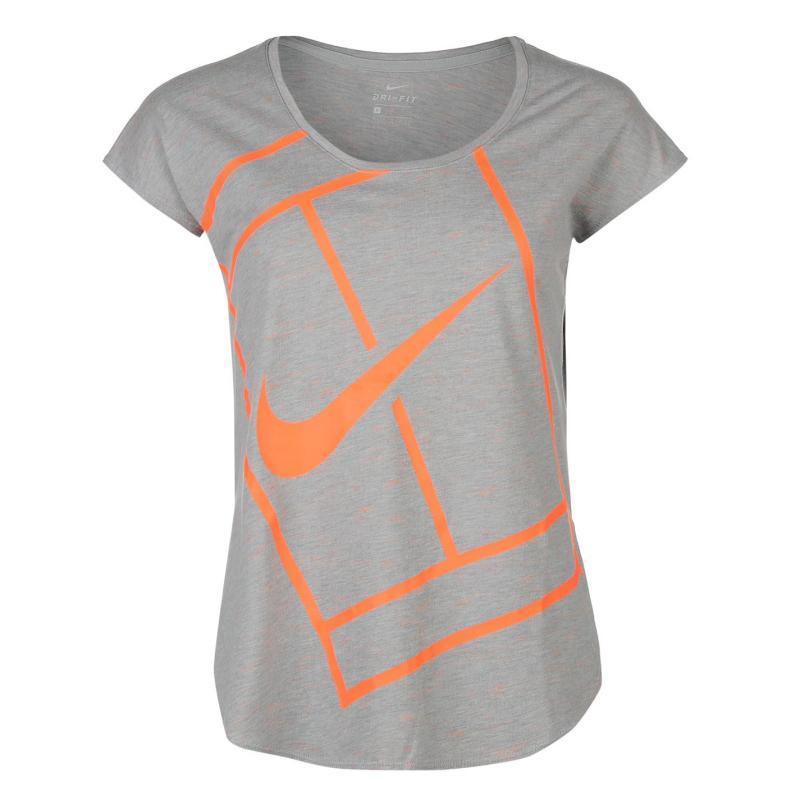 Nike Practice Tennis Top Ladies Mango, Velikost: 14 (L)
