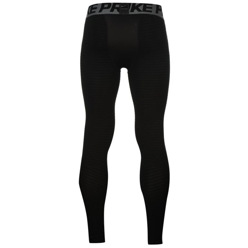 Nike Pro Warm Tight Mens Black/Grey